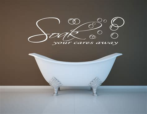 bathroom vinyl wall art bathroom wall art decorating tips 187 inoutinterior
