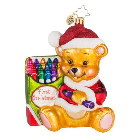christopher radko ornaments 2016 radko color me cute