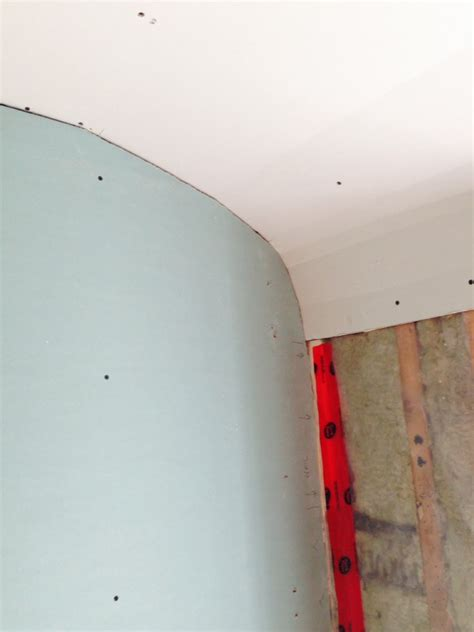 Curved Drywall Ceiling by Maxine And Elena S Bathroom Renovation Fresh Reno