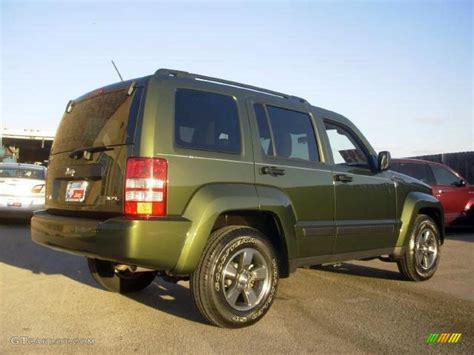 liberty jeep 2008 2008 jeep green metallic jeep liberty sport 4x4 15919605