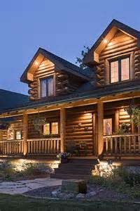Log Home Lighting Design Log Home Photos Log Home Exteriors Expedition Log
