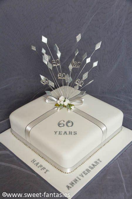 60th Wedding Anniversary Party   Diamond/White on