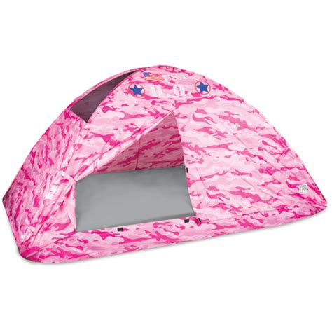 twin bed tents pink camo bed tent twin walmart com