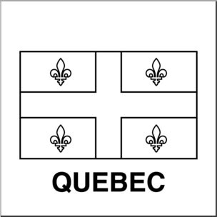 coloring pages quebec clip art flags quebec b w i abcteach com abcteach