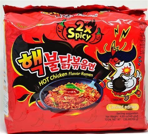 Samyang Spicy tokogembira samyang 2x spicy chicken flavor ramen 5