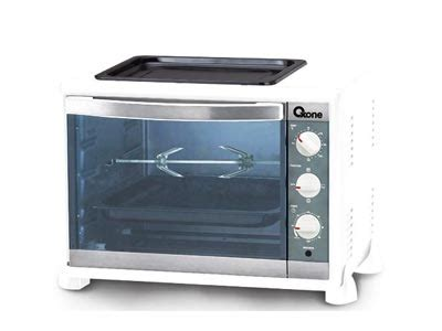Oven Gas Oxone electronic city oxone oven toaster white ox 898br