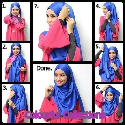 tutorial hijab pesta licin 10 tutorial hijab menutup dada yang sopan anggun dan