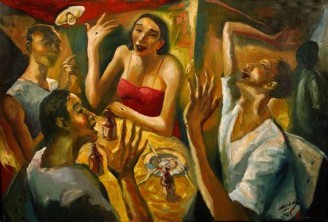 Red Blind Recognizing The Stranger The Art Of Emmanuel Garibay