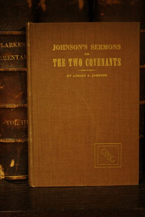 a great mystery fourteen wedding sermons books johnson s sermons on the two covenants by s johnson