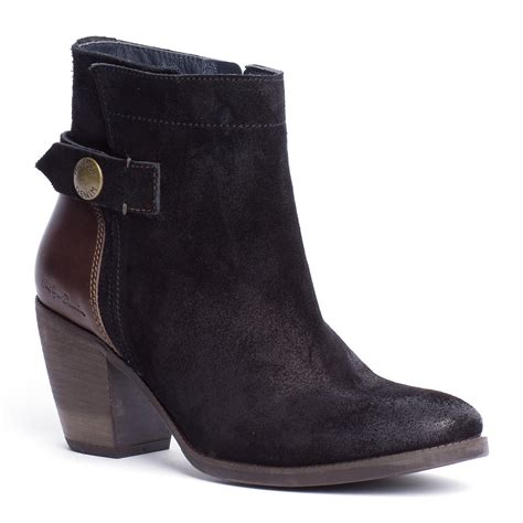 hilfiger ankle boots in black lyst