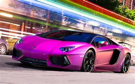 purple ferrari wallpaper lamborghini aventador lp700 4 purpura wallpapers gratis