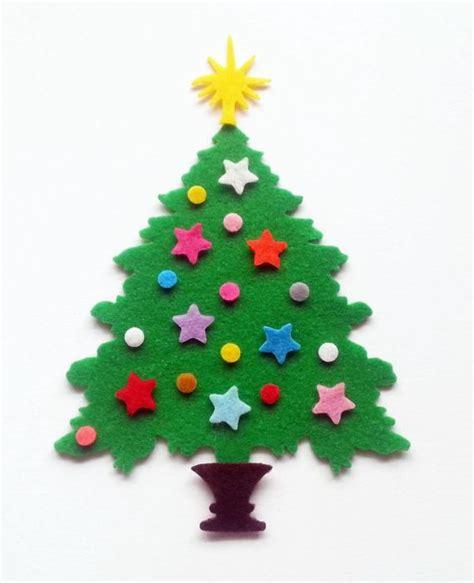 arbol de navidad de fieltro sin montar planeta costura