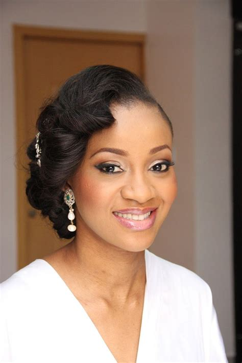 nagerian hairstyle wedding 17 best images about african american wedding hair on