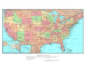 maps of the usa detailed map of the usa the united