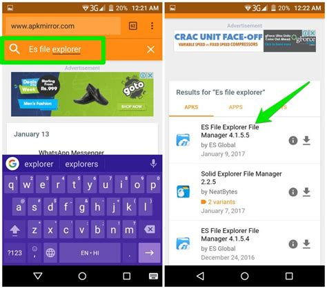 apk version apps how to install version of android apps hongkiat