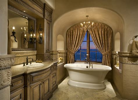 elegant bath an elegant bathroom bathtub centered in front of window