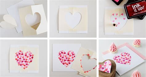 how to make a valentines card diy valentines day cards modern magazin