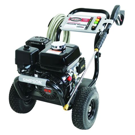 powershot 3 200 psi 2 8 gpm gas pressure washer