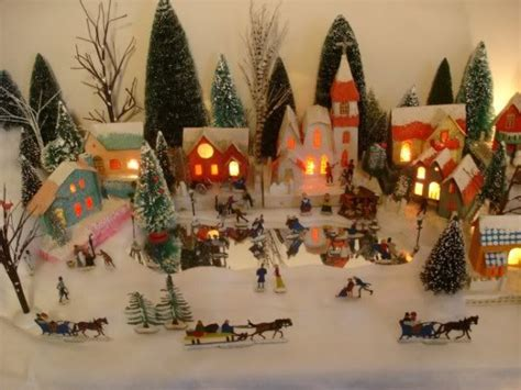 minuiture christmas towns queensborough our real meanwhile at the manse