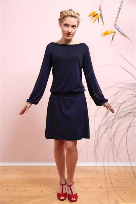 kleid marineblau
