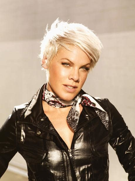 hair styles from singers p nk p nk in pictures heart