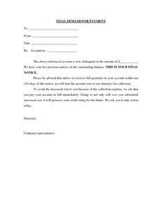Credit Bureau Demand Letter Sle Demand Letters