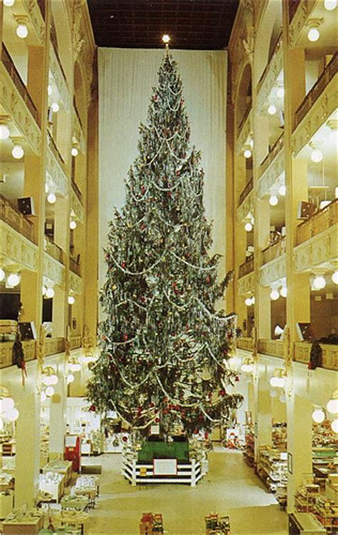 sterling linder department store christmas tree cleveland