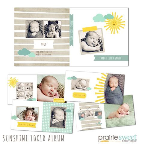 baby album templates newborn photoshop templates photoshop templates