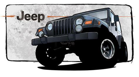 Jeep Illustration By Genthba On Deviantart