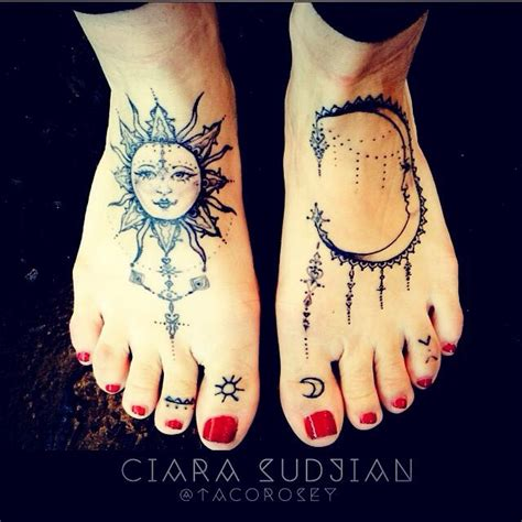 sun foot tattoo pin by s k on inspiration