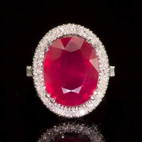 14k gold 8 94ct ruby 0 85ct ring