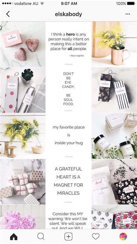 instagram layout tips 7 types of instagram grid layouts planner tips