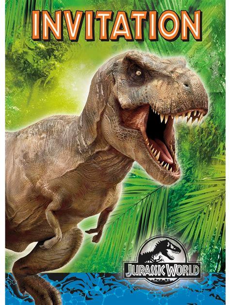 printable jurassic world birthday cards jurassic world dinosaur party planning ideas supplies