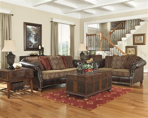 Traditional Leather Living Room Sets Julius Sofa Loveseat Living Room Set 2pc Traditional