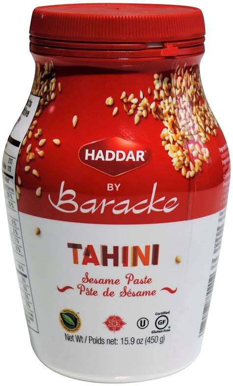 tahini grocery store section baracke 100 sesame tahini
