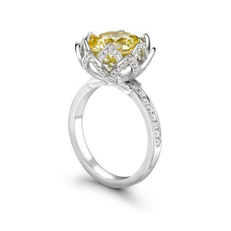yellow sapphire engagement rings price www pixshark