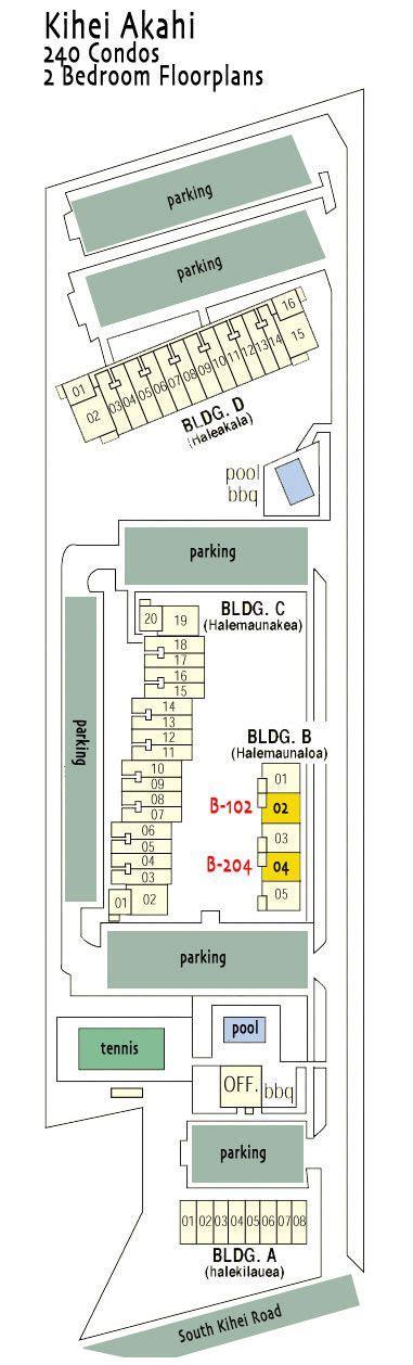 sands of kahana building layout kihei kihei akahi vacation rental condos affordable