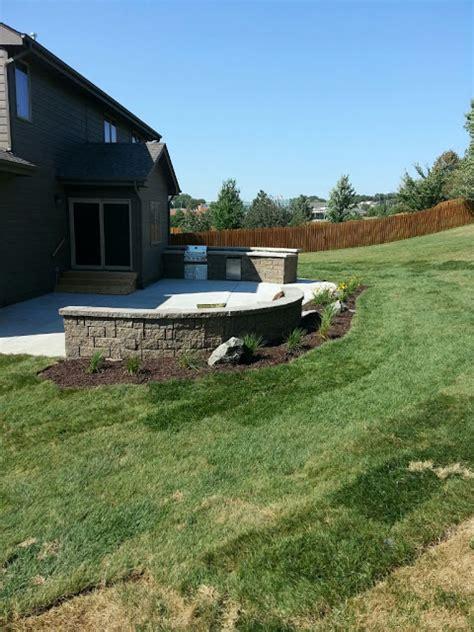 outdoor kitchen omaha omaha landscaping