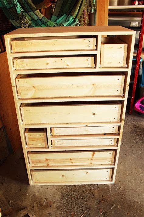 diy wood drawer slides diy retro rainbow wooden dresser
