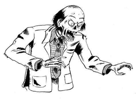 dibujos para colorear zombies dibujos para colorear dibujos de zombies para colorear
