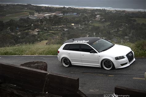 slammed audi a3 pictures slammed audi a3 lightpainted