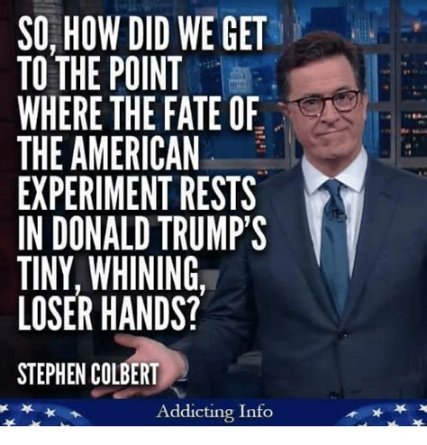 Stephen Colbert Meme - funny stephen colbert memes of 2017 on sizzle fortune