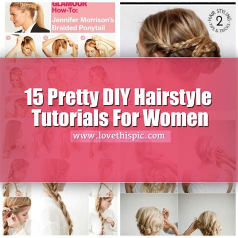 diy haircuts for women 15 pretty diy hairstyle tutorials for women
