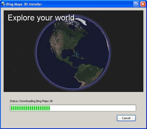 download microsoft virtual earth 3d maps bing maps 3d free download