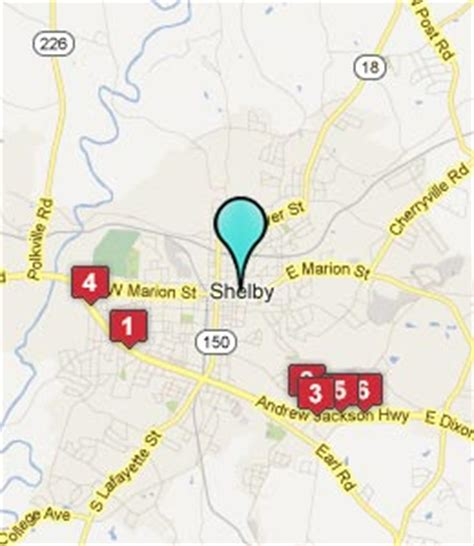 shelby carolina map shelby nc hotels motels see all discounts