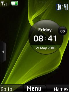 clock themes for samsung e2252 samsung star clock s40 theme