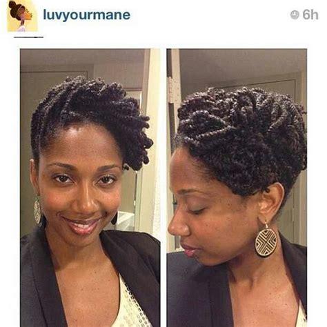 two strand twist updo locspiration pinterest two two strand twist updo on natural hair hairstylegalleries com