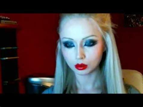 tutorial makeup valeria lukyanova valeria lukyanova amatue makeup gothic youtube
