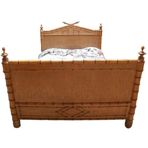 bamboo beds 19th c faux bamboo bed at 1stdibs