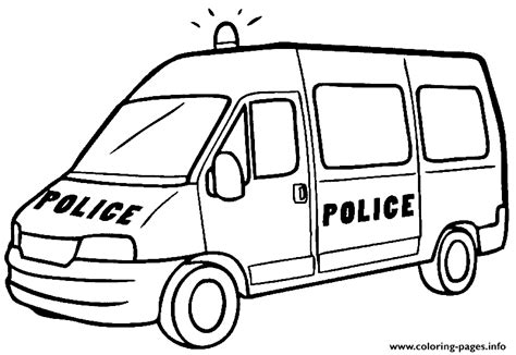 big car coloring page big police car coloring pages printable